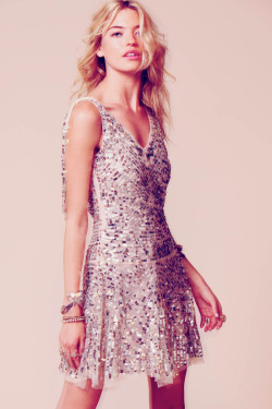 "Free People ""Occasion"" Lookbook Model: Martha Hunt"