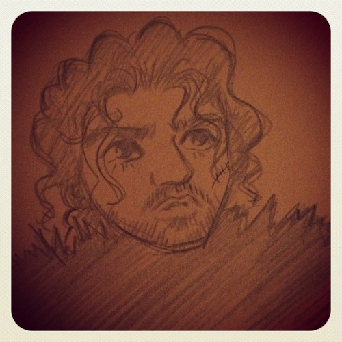 Jon Snow #gameofthrones  (Taken with instagram)