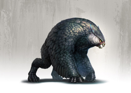 wizardsandshiz:  The Owlbear, a testament to the creativity and lack of moral compass of your average life-creating wizard.