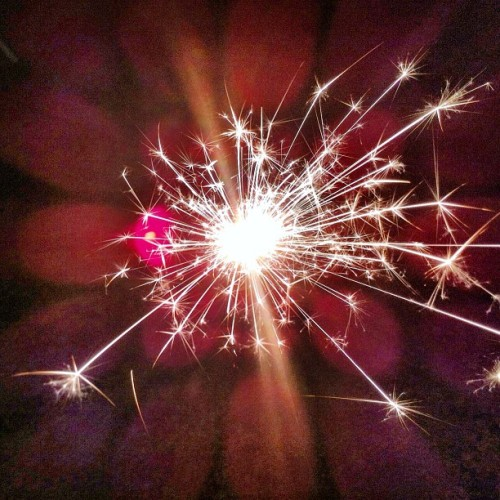 Sparkler.  (Taken with instagram)