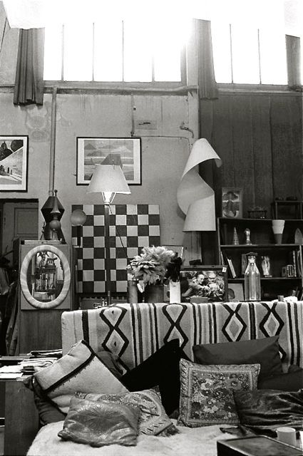 Man Ray's Atelier 2 bis rue Férou Paris c. 1985 (photo Jan Svenungsson)