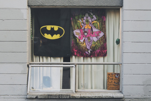 This person likes Batman I think? Or something? (by Cory Schmitz)