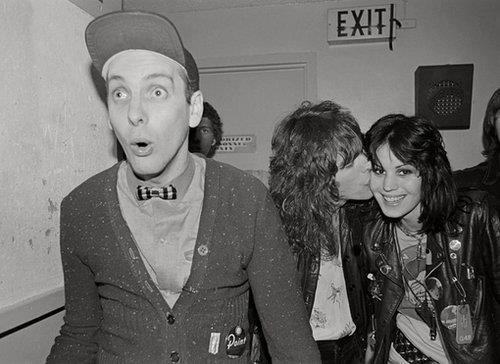 Rick Nielsen, Tom Petersson and Joan Jett