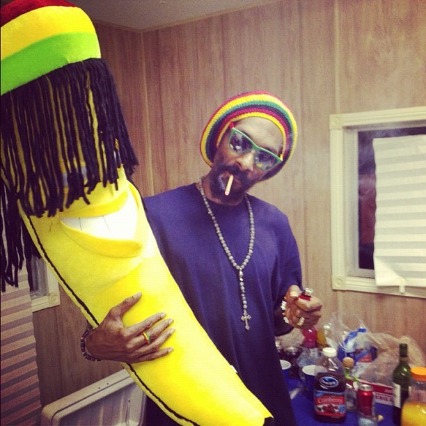 Rasta banana. Jah. Rastafari.  (Taken with instagram)