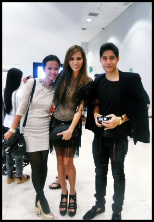 With Mother Divine Lee and V at the Philippine Fashion Week! :)