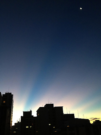 ikenbot:  Nightfall in Sao Paulo, Brazil Copyright: Luiza Whitaker