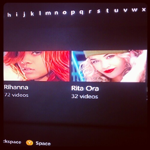 Damn Vevo knows me to well lol #Vevo #rihanna #Ritaora  (Taken with instagram)