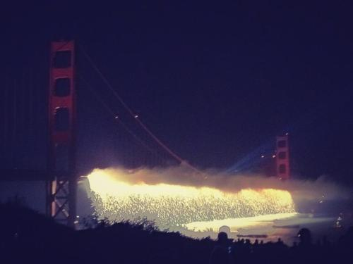 beautythatsaves:  happy 75th bday, golden gate. pic via some guy