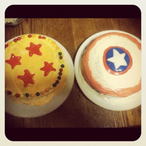 Happy Memorial Day!!!  Me and my sister baked these treats ^__^