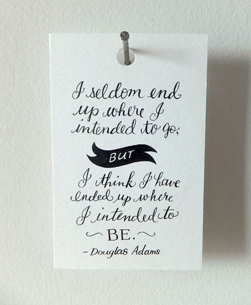 Love this quote. nevver:  Douglas Adams