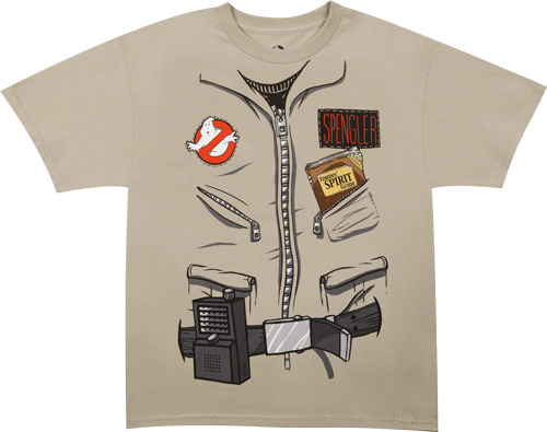 (via Egon Spengler Ghostbusters Shirt T-Shirt - 80sTees.com T-Shirt Review)