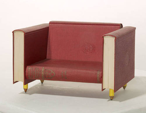Dear Chair, I'd love you in my den! <3 bibliophibious:  Dear chair, you belong in my apartment.