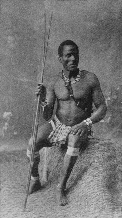 Sir Harry Hamilton Johnston, A Bush-Negro of the Saramaka tribe, Dutch Guiana, 1910. Source: New York Public Library