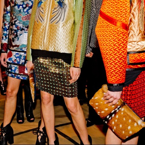Backstage @ Proenza Schouler Fall 2012
