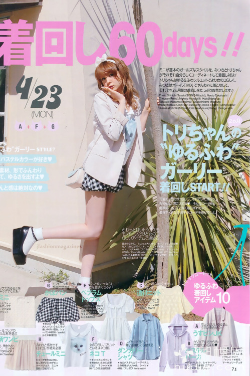 jfashionmagazines:  ViVi June 2012