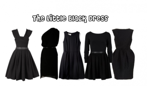 Dress Up Your Little Black Dress :  black dress little black dress