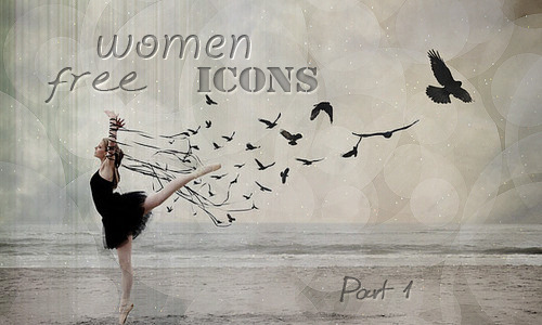 Icon Women Part 1 ( 50 avatars 100x100 free)