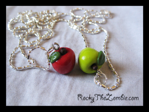Friendship Apples ^_^  From 'Rocky The Zombie' on ebay.