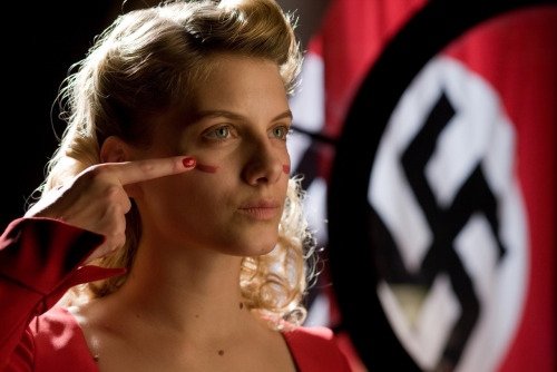 bohemea:  Melanie Laurent in Inglourious Basterds