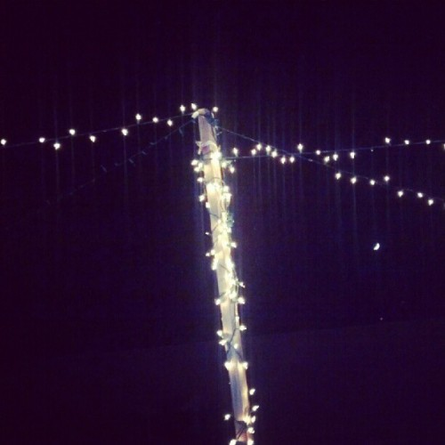 #lights #torch #night #sky #new #dark (Taken with instagram)