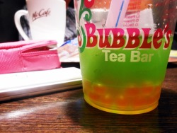 I hate Bubbl's Tea.(Y)