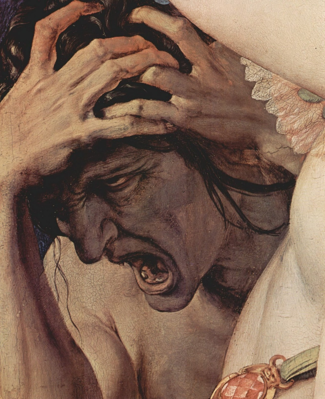 Bronzino An Allegory with Venus and Cupid (detail) 1540-50