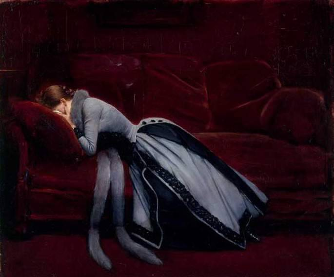 "Jean Béraud: ""Après la faute"" (After the Misdeed)"