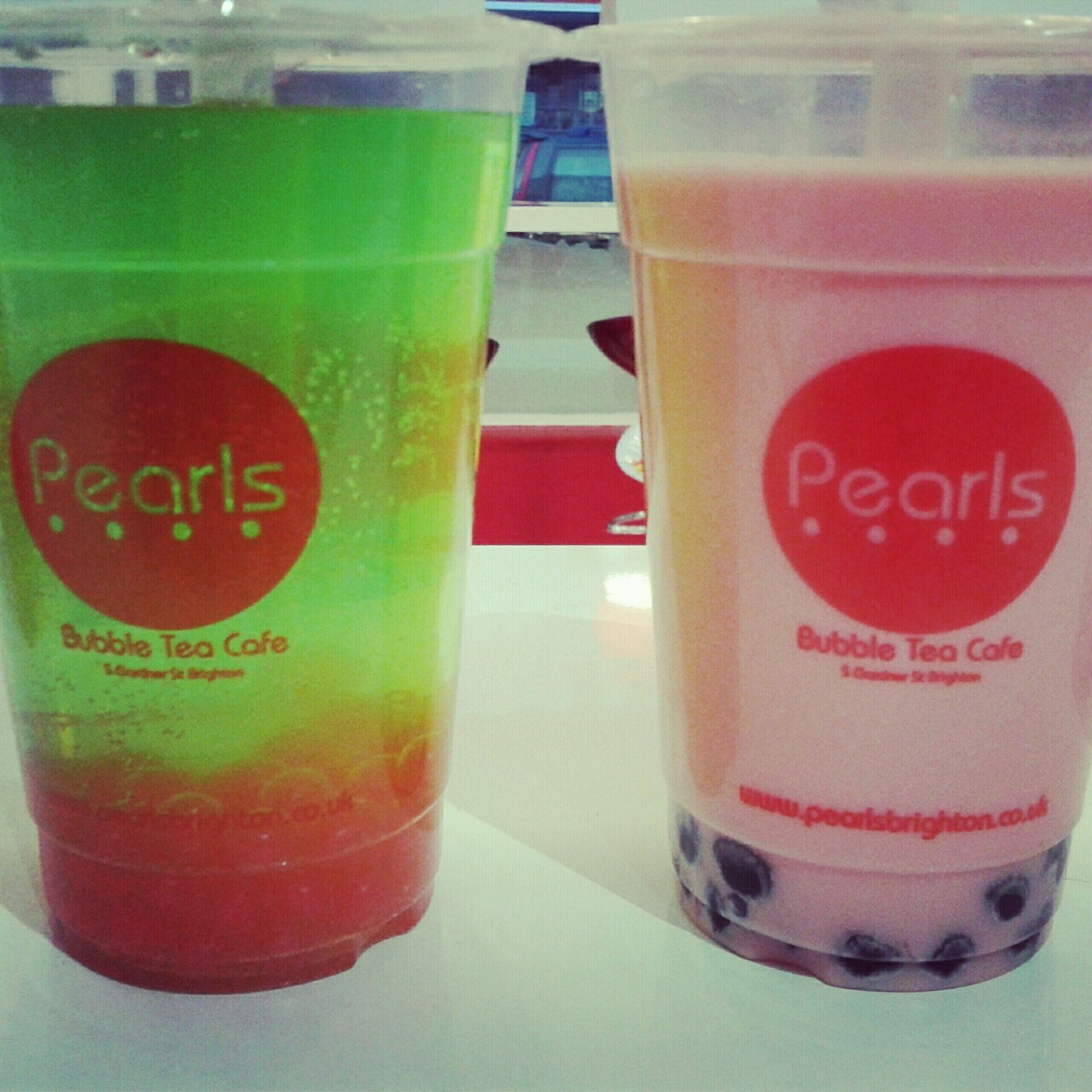 Pearls bubble tea cafe, Gardener street, Brighton