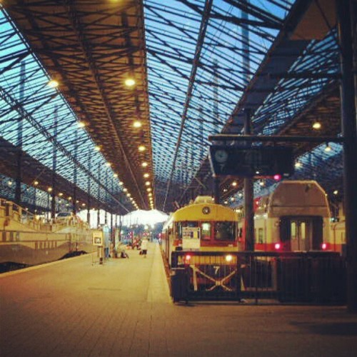 ヘルシンキ中央駅 Trip to Helsinki,2003  #Finland #Helsinki #station #evening #train  (Instagramで撮影)