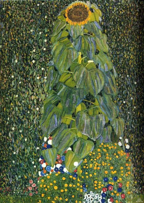Gustav Klimt- The Sunflower (1907)
