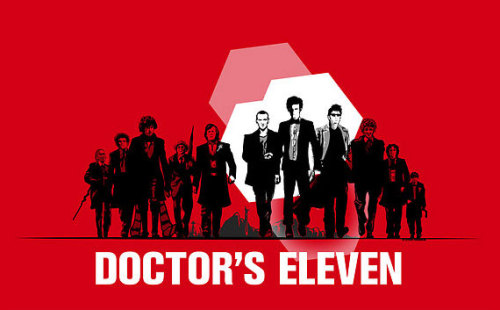 Doctor's Eleven by Steven Thibaudeau Shirts available at Redbubble.  Artist: DeviantArt / Facebook