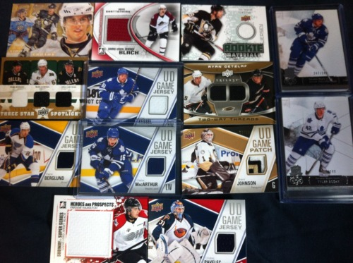 Want my hockey cards? Pretty sure I'm going to start giving them away: http://www.stevedangle.com/want-my-hockey-cards