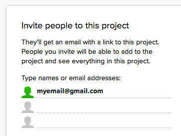 "Basecamp - When you copy-paste an email ID like ""John Doe <myemail@gmail.com>"", it automatically strips everything and leaves just the email address. /via Harpal"