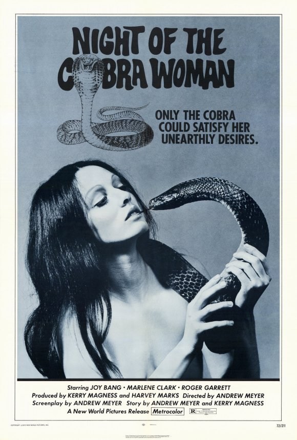 NIGHT OF THE COBRA WOMAN (1972)
