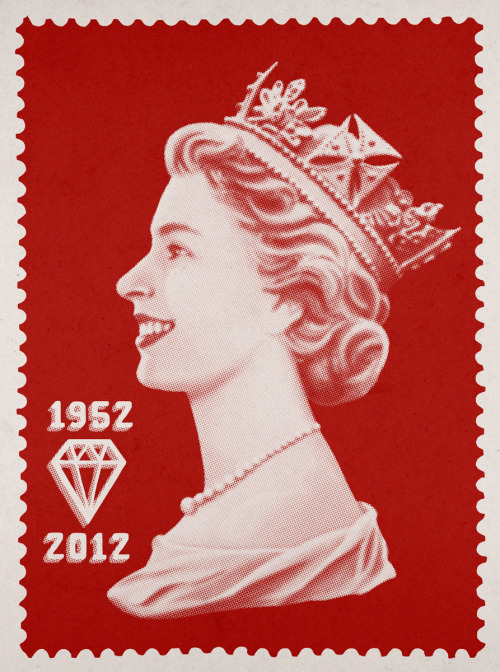 Diamond Jubilee One of the prints I've done for my day in the hot box at Uncountained with @shellsuitzombie. If you're in London on Monday June 4th, come say hi! Details here.