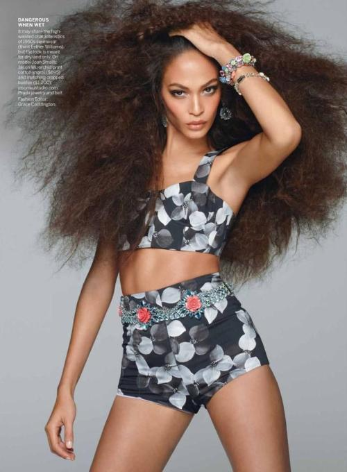 Joan Smalls - American Vogue May 2012