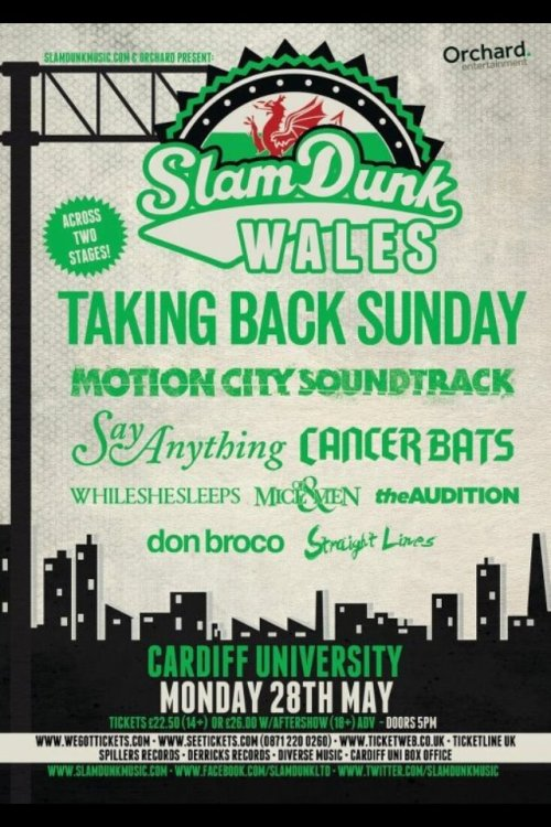 Heading to Slam Dunk Wales today with my camera in hand. I will try and photograph everyone. Its going to be a busy day. Any requests?