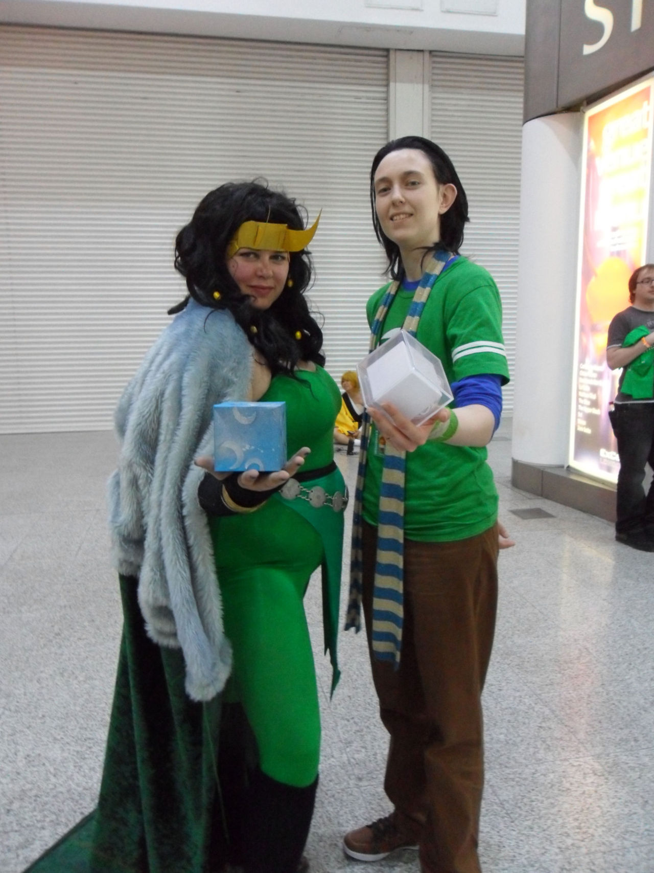 Lady Loki and Sheldon…Loki?
