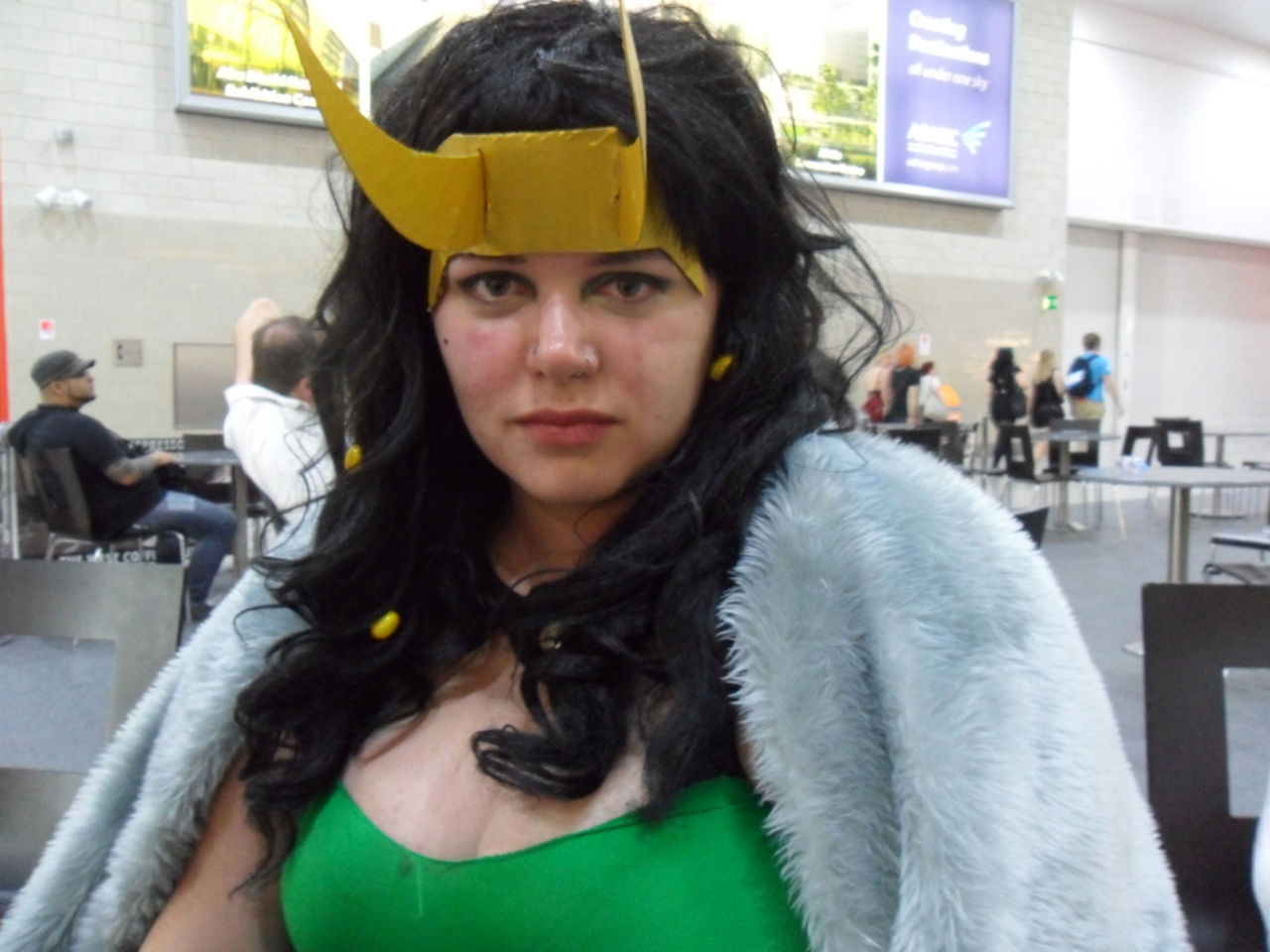 Can I call this the bitch-face? Every version of Loki needs a bitch face Not sure why it looks like I've been crying though