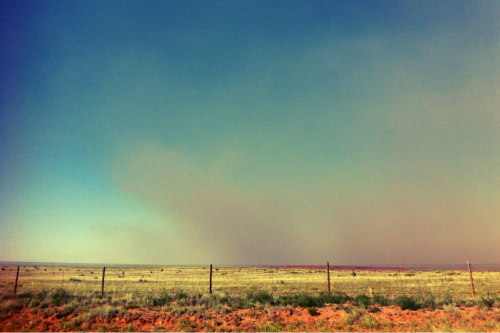 Grass fire south of Roy NM