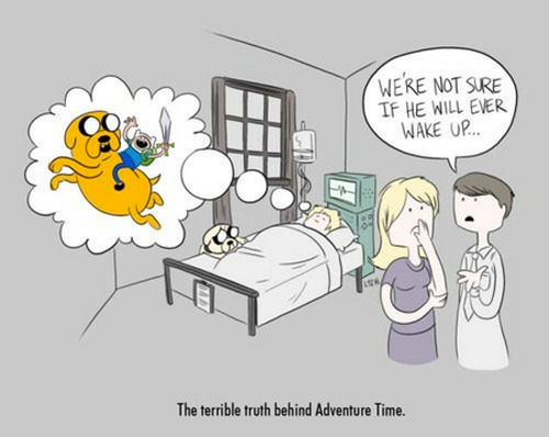 Adventure Time.  Via.