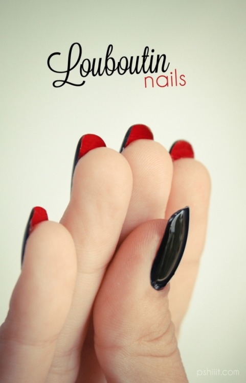 tangledupinblond:  Louboutin Nails - love or loathe?
