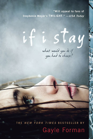 "If I Stay by Gayle Forman My Rating: 5/5 cups of coffee My Review: ""Love, it never dies. It never goes away, it never fades, so long as you hang on to it. Love can make you immortal"" I always dreamed of having a rock-star boyfriend. The one who can sing, play instruments like guitar or drums and the one who will bring you to rock concerts. Because I, myself can sing and play guitar. Well I can dream big but I'm happy with my boyfriend right now even though he can't play guitar and he can't even sing.Sorry boyfie!This book is well written even though all of the time the story shifts from one story to another. It's more on backtracking. But I get used to it. The book is about love, death, music and family. I love how the author brought music into book. Just likeThe Perks of Being a Wallflower. Sometimes I search for the songs in the internet to listen to it so that I can imagine the story more.Overall, it's beautiful and sad at the same time. It's a cliff-hanger so I need to buy the next book Where She Went when school starts."