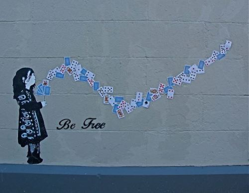 Be Free. Fitzroy, Melbourne. Source: Melbourne Street Art.