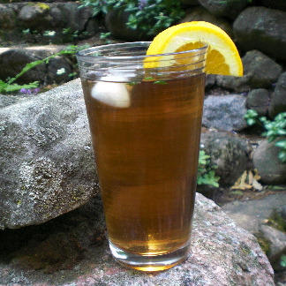 Orange Tarragon Sun Tea