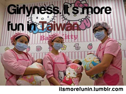 itsmorefunin:  Hello Kitty themed Hospital in Taiwan Source