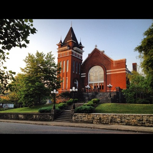 East End UMC #eastnashville #nashville #Church #Architecture (Taken with instagram)