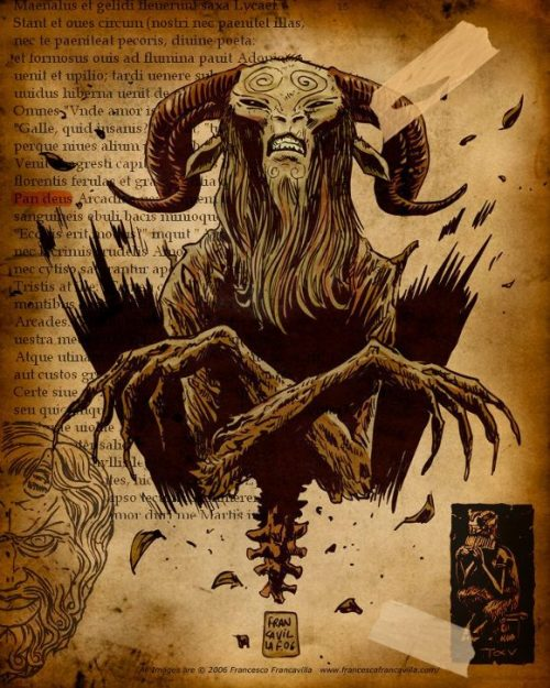 Pan's Labyrinth illustration by Francesco Francavilla