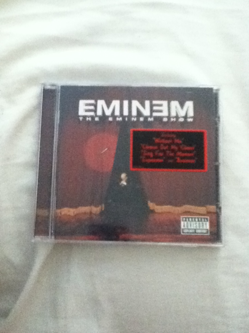 n-mpho:  happy tenth anniversary, the eminem show. my favourite record of his.