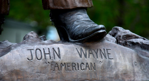 "John Wayne was an ""American"" Let's see that long form birth certificate, Marion. Via"